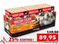 25% korting op deze RedWire Specials 75 schots compound in de voorverkoop bij Xena Vuurwerk in Ede. Bestel online!