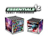 Een compleet overzicht van Essentials vuurwerk dat verkrijgbaar is in de vuurwerkwinkel van Xena Vuurwerk in Ede