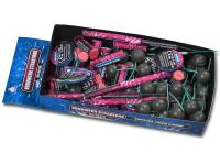 Categorie 1 vuurwerkpakket met 90 stuks tollen, flitsers en knetterballen. Online te bestellen bij Xena Vuurwerk in Ede