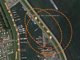 Xena Vuurwerk voert altijd een locatiescan uit voorafgaand aan de vuurwerkshow om mogelijkheden in kaart te brengen