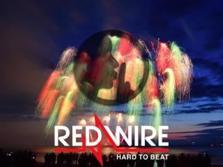 Assortiment met geluidsarme RedWire cakes, zogenaamde silent effects. Online verkrijgbaar en in de vuurwerkwinkel van Xena Vuurwerk in Ede