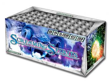 Essentials cakebox met 66 schots kleurenspektakel en dubbel finalesalvo. Online te bestellen bij Xena Vuurwerk in Ede