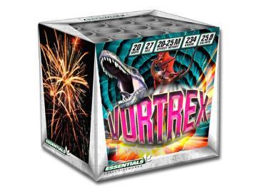 Essentials vuurwerk cake met 20 schoten vol met blinkers en goud. Online te bestellen bij Xena Vuurwerk in Ede