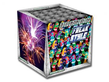 Mooie budgettopper van Essentials met kleurrijke boeketten en luide crackling. Online te bestellen bij Xena Vuurwerk in Ede