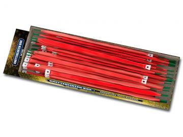 Doos vol met 100 knetterlinten. Online te bestellen en verkrijgbaar in de vuurwerkwinkel van Xena Vuurwerk in Ede